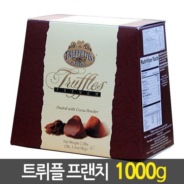 트뤼플프렌치 초콜릿, 1kg, 1개