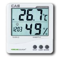 카스(CAS) 디지털 온습도계 TE-201, 화이트 (TOP 8393127)