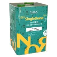 노루페인트 옥상방수 우레탄페인트 싱글탄 중도1액형 18Kg, 녹색 (TOP 2096356731)