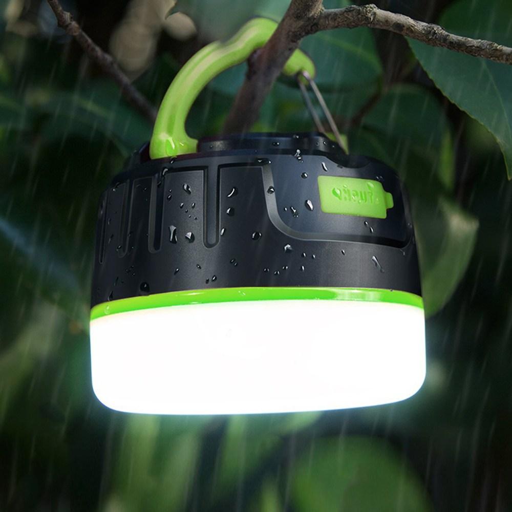 한국미디어 캠핑 휴가 필수품 LED 아웃도어 랜턴 LC-50 충전식