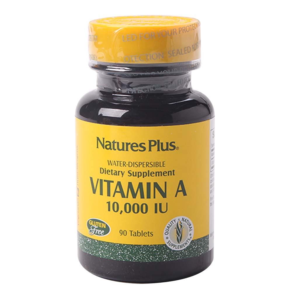 네이처스플러스 비타민 A 10000IU 워터 디스퍼서블 타블렛, 90개입, 1개