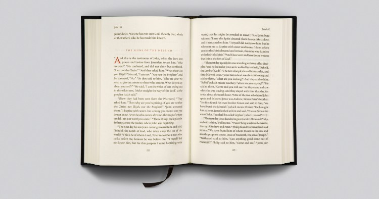 The Creation of the ESV Reader's Bible, Six-Quantity Set: With Chapter and Verse Numbers
