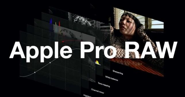 iOS 14.3公測版作業系統釋出,許多拍照愛好者希望的Apple ProRAW。(圖/翻攝自蘋果官網)