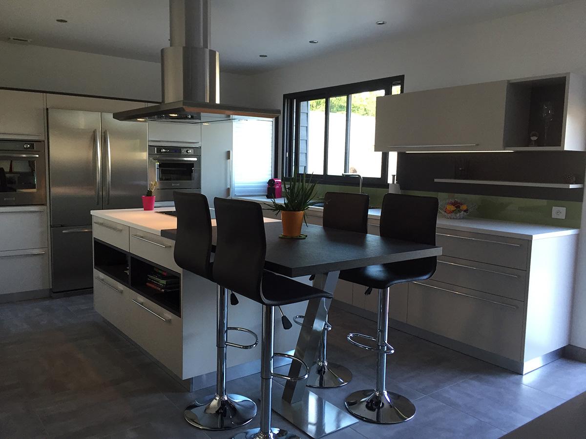 cuisine equipee design et renovation