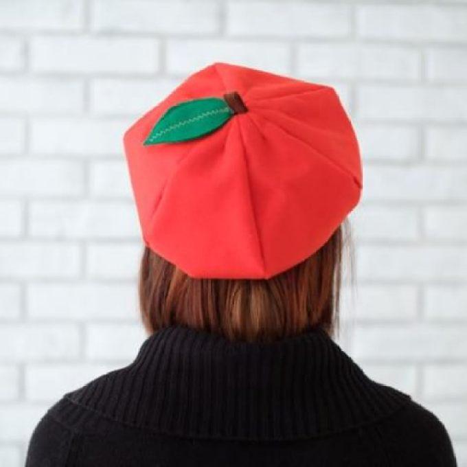 桜餅 帽子5