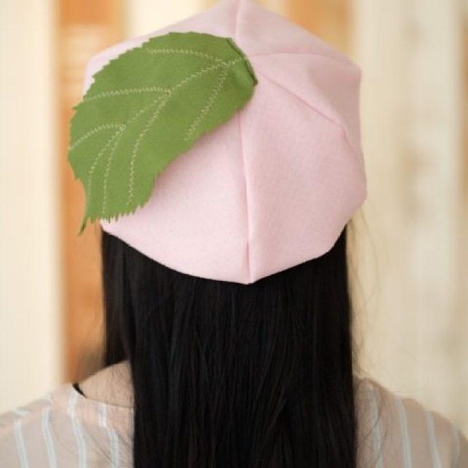 桜餅 帽子1