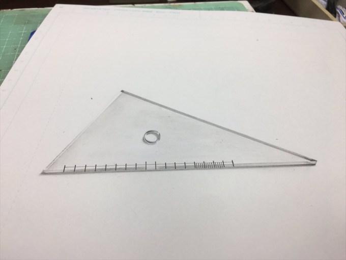 Mozuさんの三角定規の作品