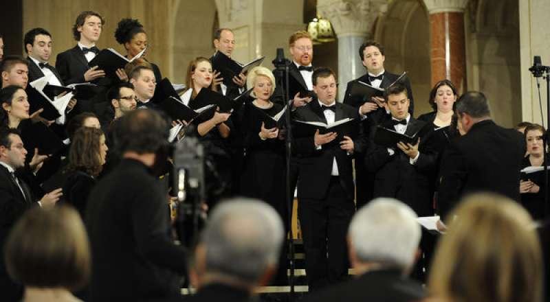 callista gingrich canta nel coro