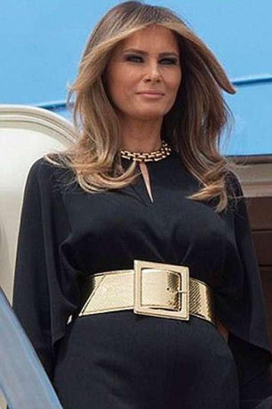 melania first lady della moda