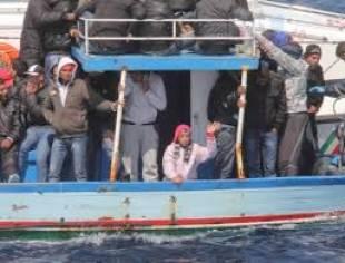migranti nel canale di sicilia 4