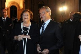 AnnaMaria Cancellieri e il marito Nuccio Peluso