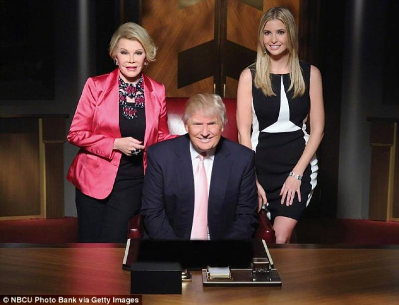donald trump a the celebrity apprentice