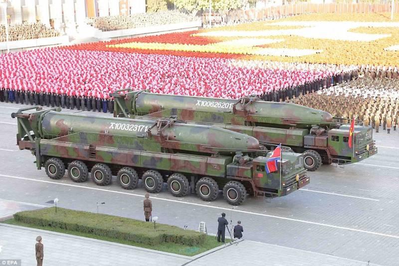 lanciamissimi kn 08 a piazza kim il sung corea del nord