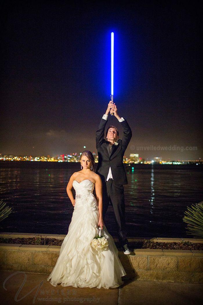 5df743d26c0b9 star wars wedding cory carrie shields 1 5df202bbbf3ca  700 - Casal teve um casamento com o tema Star Wars