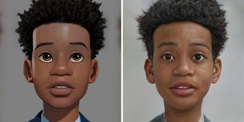 5fa10655e5b74 Artist remasters famous characters using artificial intelligence 5f9fb7d0df51d  880 - Inteligência Artificial? Como seriam estes personagens na vida real?