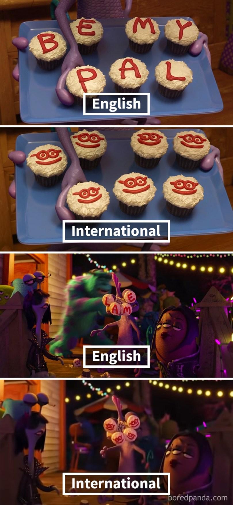 5fbf65766fad3 4 5fbcfac482855  700 - Detalhes que a Pixar e a Disney mudaram em seus filmes em países diferentes
