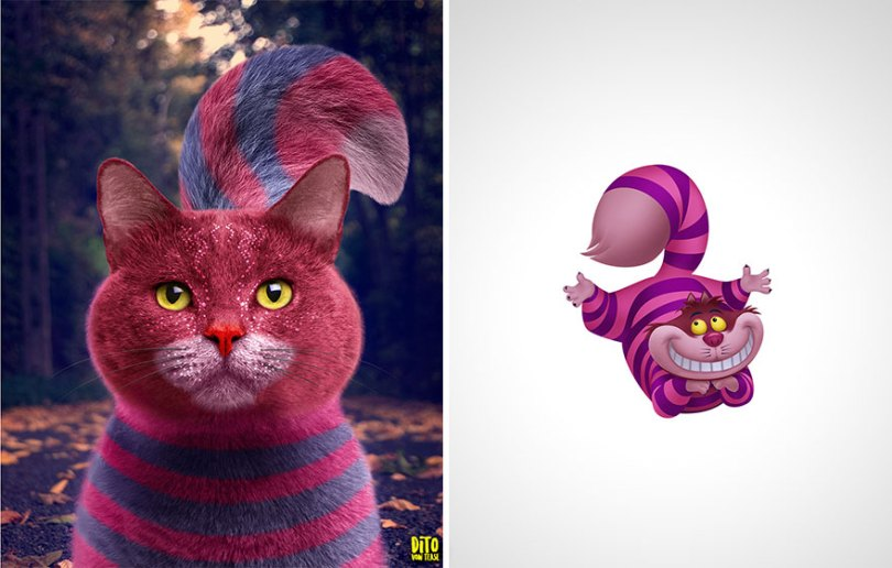 5fc76646e24bb How Animals Cartoon Characters Would Look In Real Life 5fbcfc0250bca  880 - Imaginação! Como os personagens de desenhos animados seriam na vida real?