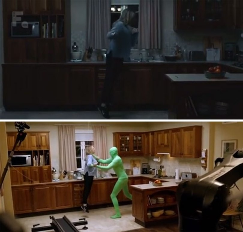 602e1a383503d films vs behind the scene pics 602a78ae5356e  700 - Por trás das cenas: Bastidores de filmes - PARTE 2