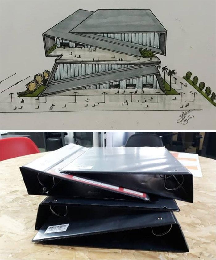 604f152829754 What if ordinary objects became incredible architectures 113 Pics 6049dbed48aab  700 - 20 esboços de projetos de Arquitetura inspirados em objetos