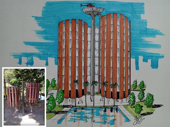 604f1528a9143 What if ordinary objects became incredible architectures 113 Pics 6049dbe49d2f7  700 - 20 esboços de projetos de Arquitetura inspirados em objetos