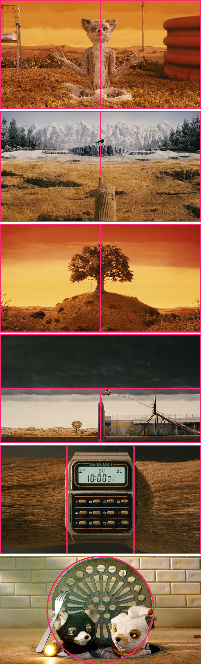 605da648e963b film scenes composition lines raymond thi 56 605b2f4a69973  700 - Regra dos terços ainda é muito usada na TV e no Cinema