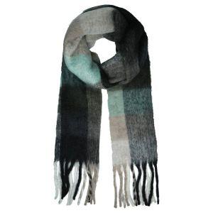 Sjaal Soft Checkered Groen