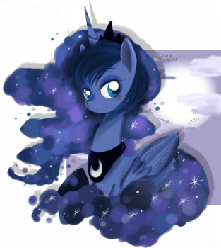MLP-luna by Snow Angel