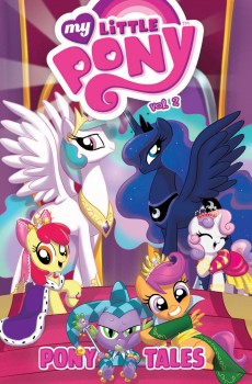 My Little Pony: Pony Tales Vol. 2 cover by Amy Mebberson