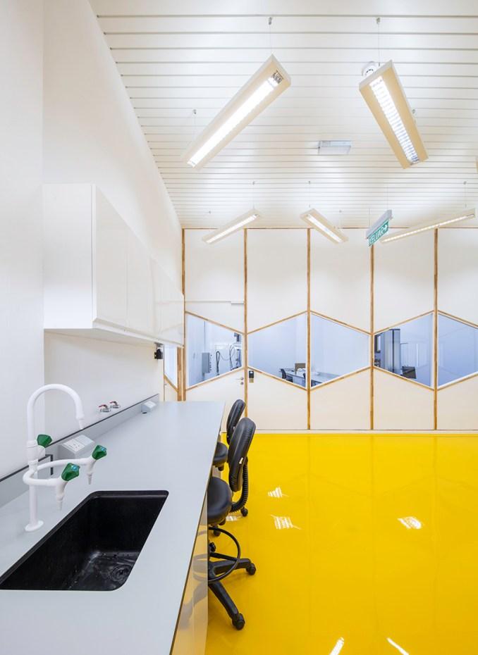 eleena jamilarchitect renovates a construction and structural engineering laboratory in kuala lampur designboom