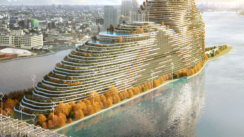 The Mandragore, imagined carbon sink for Roosevelt Island.