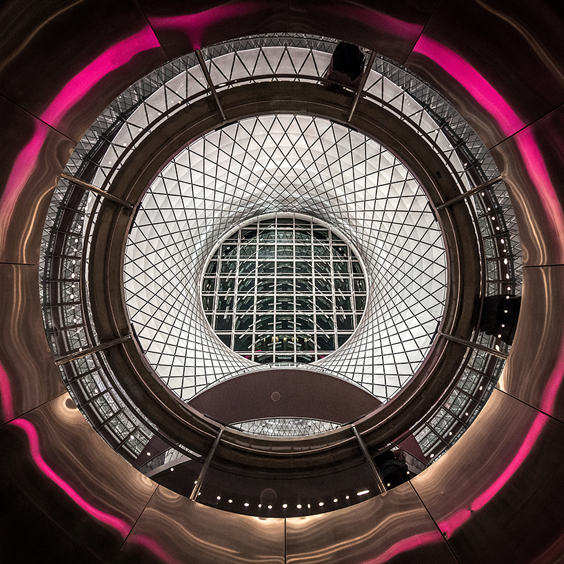pygmalion karatzas photographs grimshaw and arup's fulton center transit hub in new york