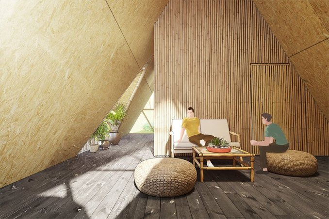 3modular creates bamboo homes for earthquake stricken regions of nepal