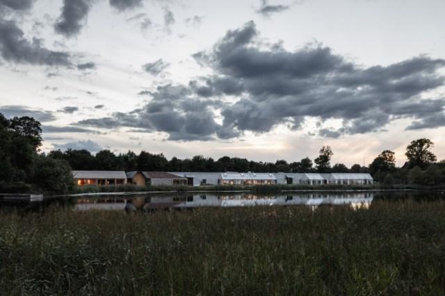bjarke ingels group BIG noma restaurant village copenhagen designboom