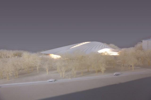 MAD architects china entrepreneur forum conference centre yabuli designboom