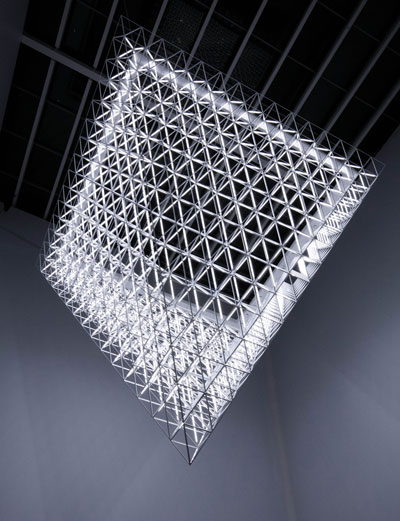 United Visual Artists Fragment Made From 421 Octahedron