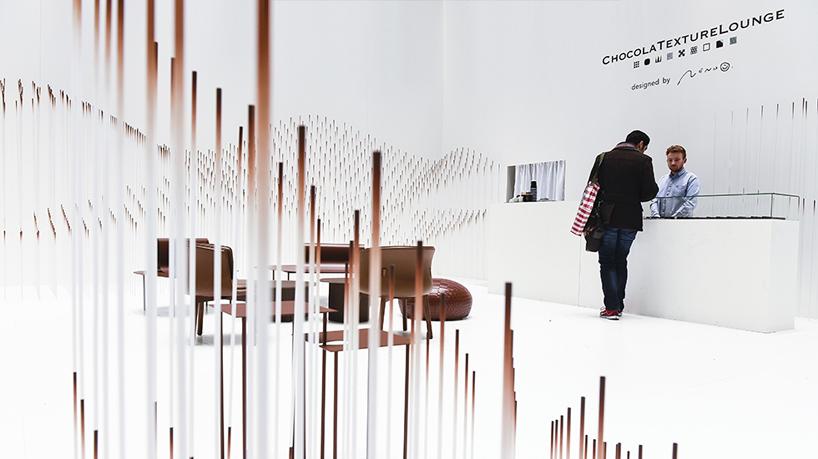 Designboom Interviews Nendo On His Chocolatexture Lounge At Maisonampobjet
