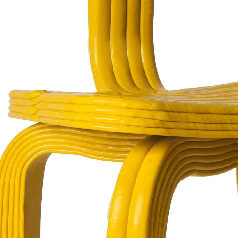 Dirk Vander Kooijs Chubby RVR Synthetic Chairs Look Soft But Are As Tough A Oak Wood