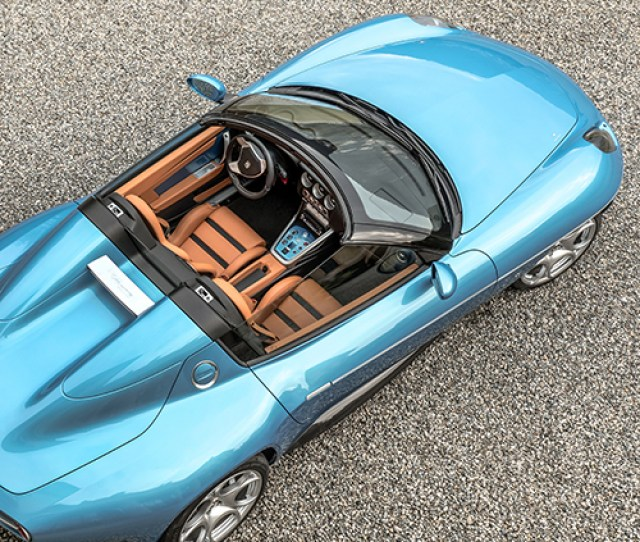 Touring Superleggera Uses Hand Beaten Aluminum Panelling With Carbon Fibre For Two Seater