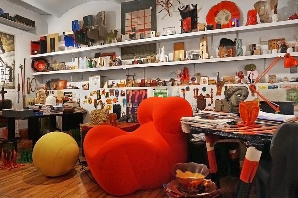 Designboom Goes Inside Gaetano Pesces Studio In New York