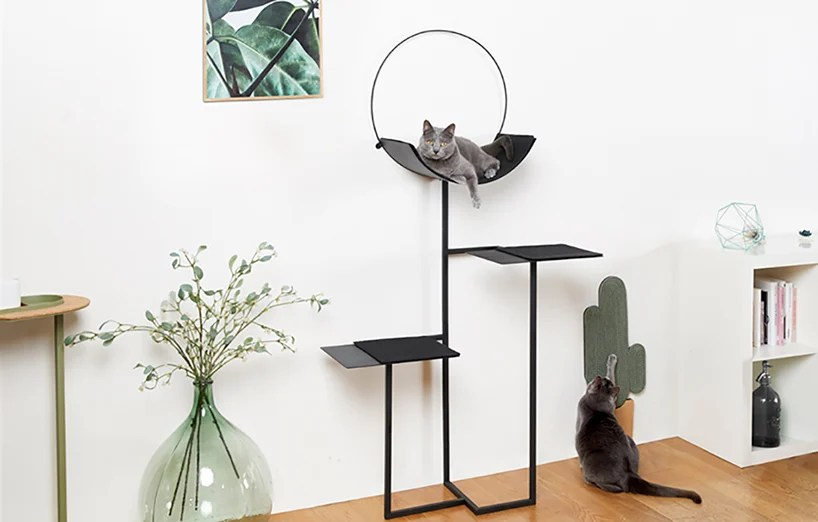 Chic Cat Bed Designers Debut More Classy Furniture For