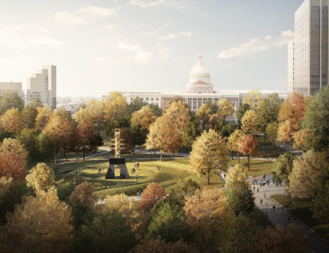 MLK memorial boston