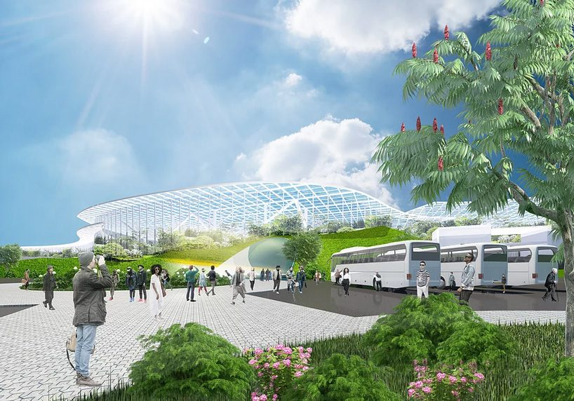 EASTERN design office plans to build the biggest greenhouse in human history in northern china
