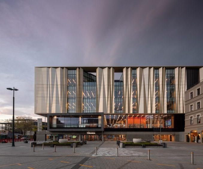 tūranga christchurch central library by schmidt hammer lassen opens in new zealand