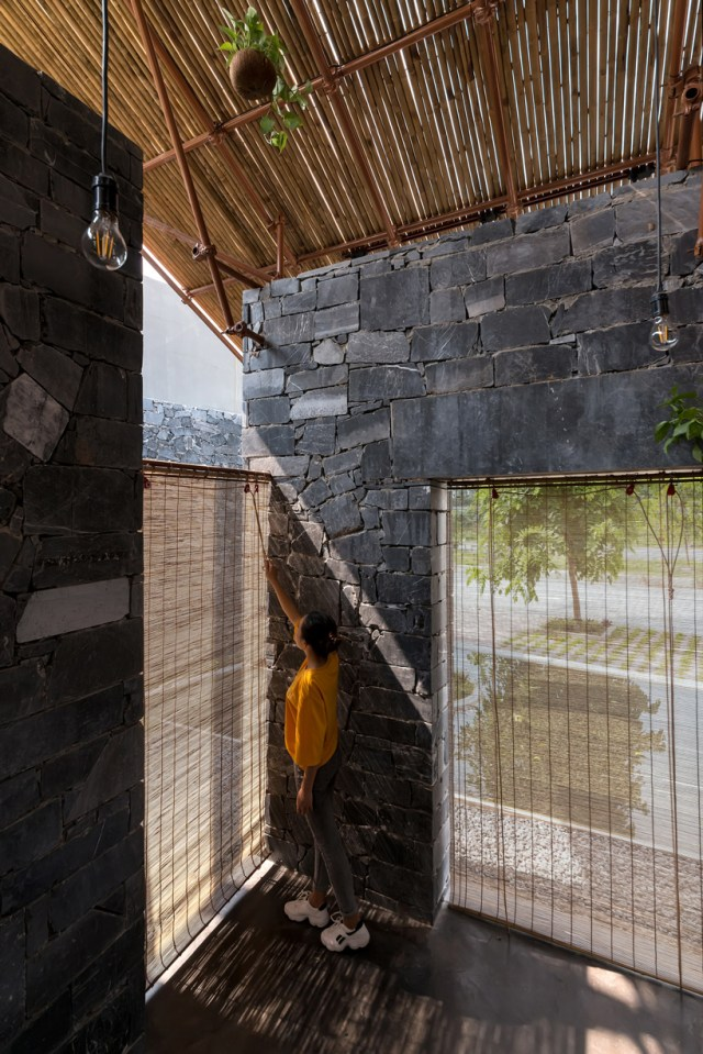 H&P architects builds cultural community space in vietnam out of waste materials and debris