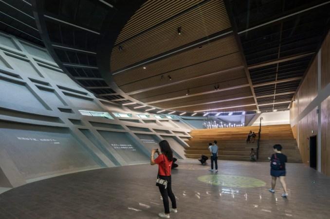 mecanoo longgang cultural centre shenzhen