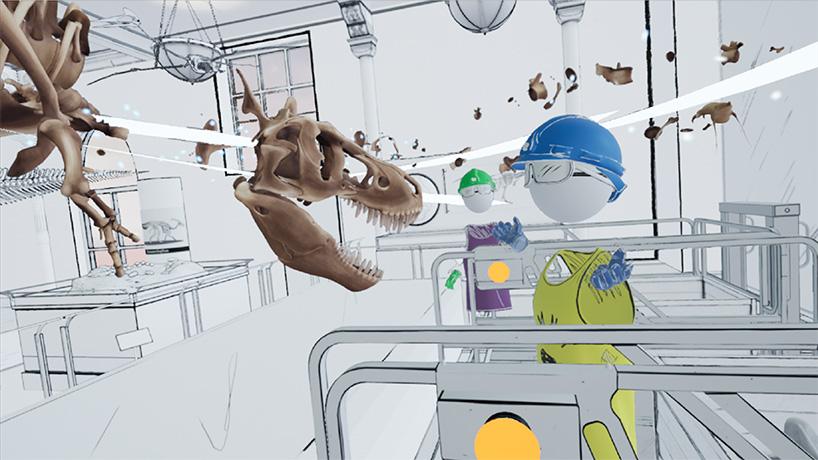 t-rex virtual reality
