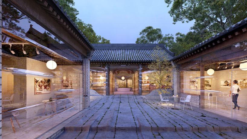 daipu architects generates undulating 'force field hutong