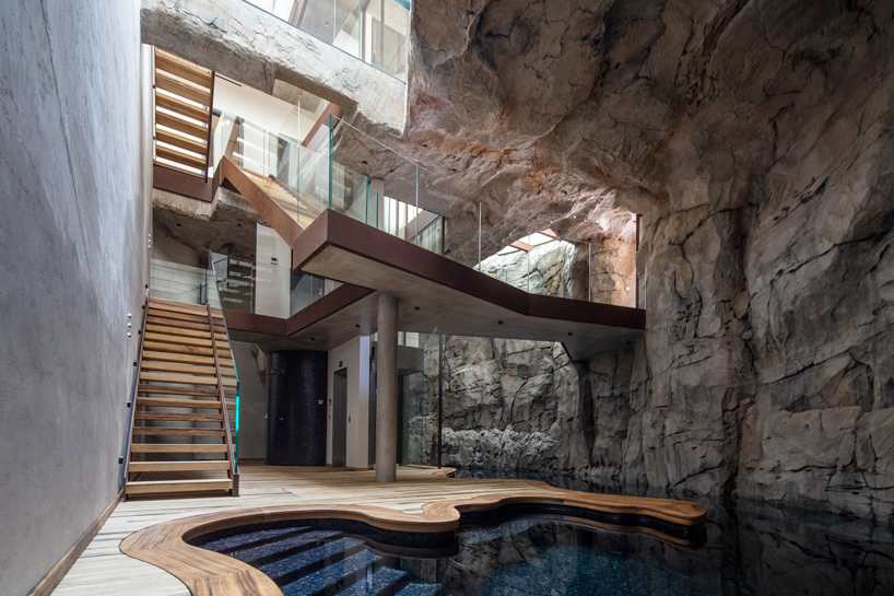 Jean Pierre Lott Carves Grotto From Monaco Bedrock With