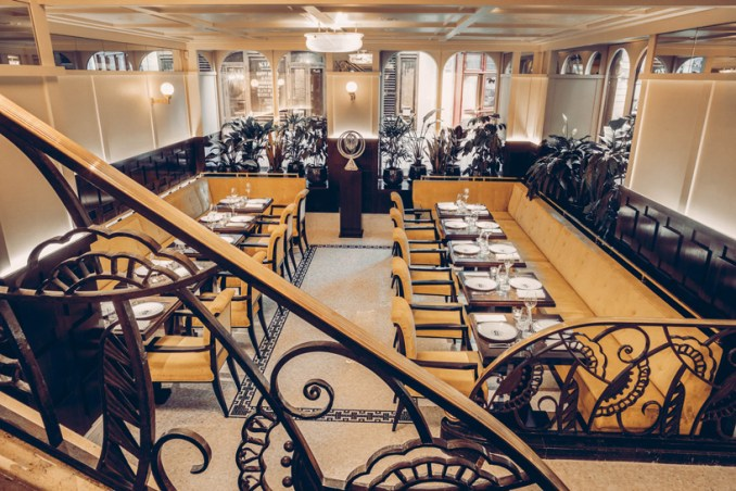 Art Deco Drouant Restaurant In Paris Reopens With Interiors By Fabrizio Casiraghi Autocad Design Pro Autocad Blocks Details 3d Models Psd Vector Sketchup Download