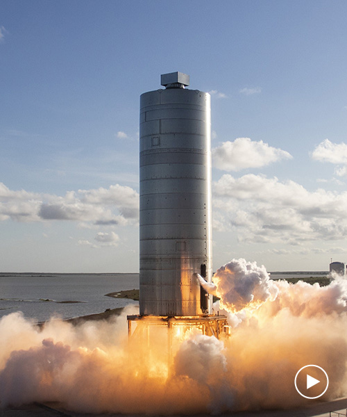 watch elon musk launch the spaceX starship rocket ...